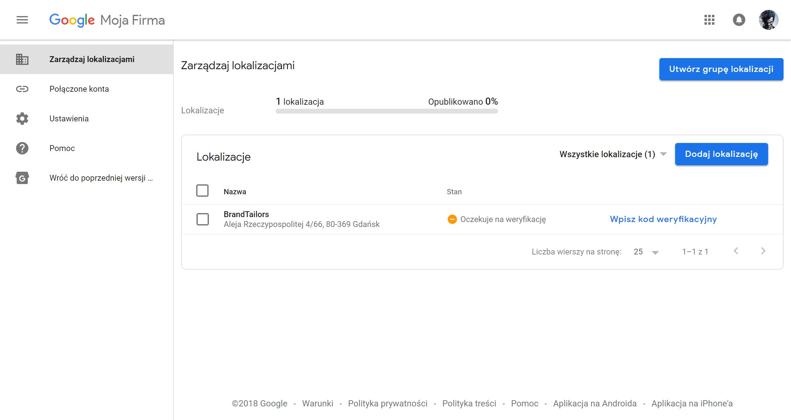 Weryfikacja-wizytówki-Google-moja-firma-BrandTailors